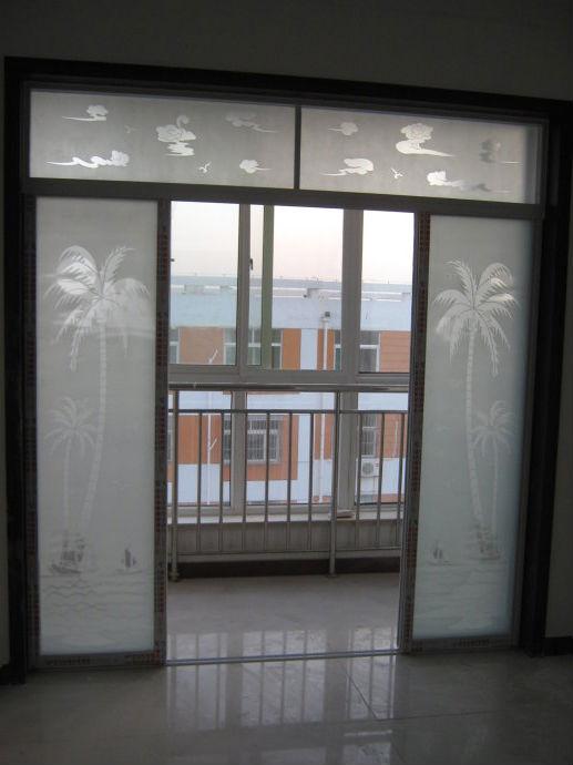 阳台玻璃推拉门尺寸_阳台或者卫浴间安装 玻璃推拉门