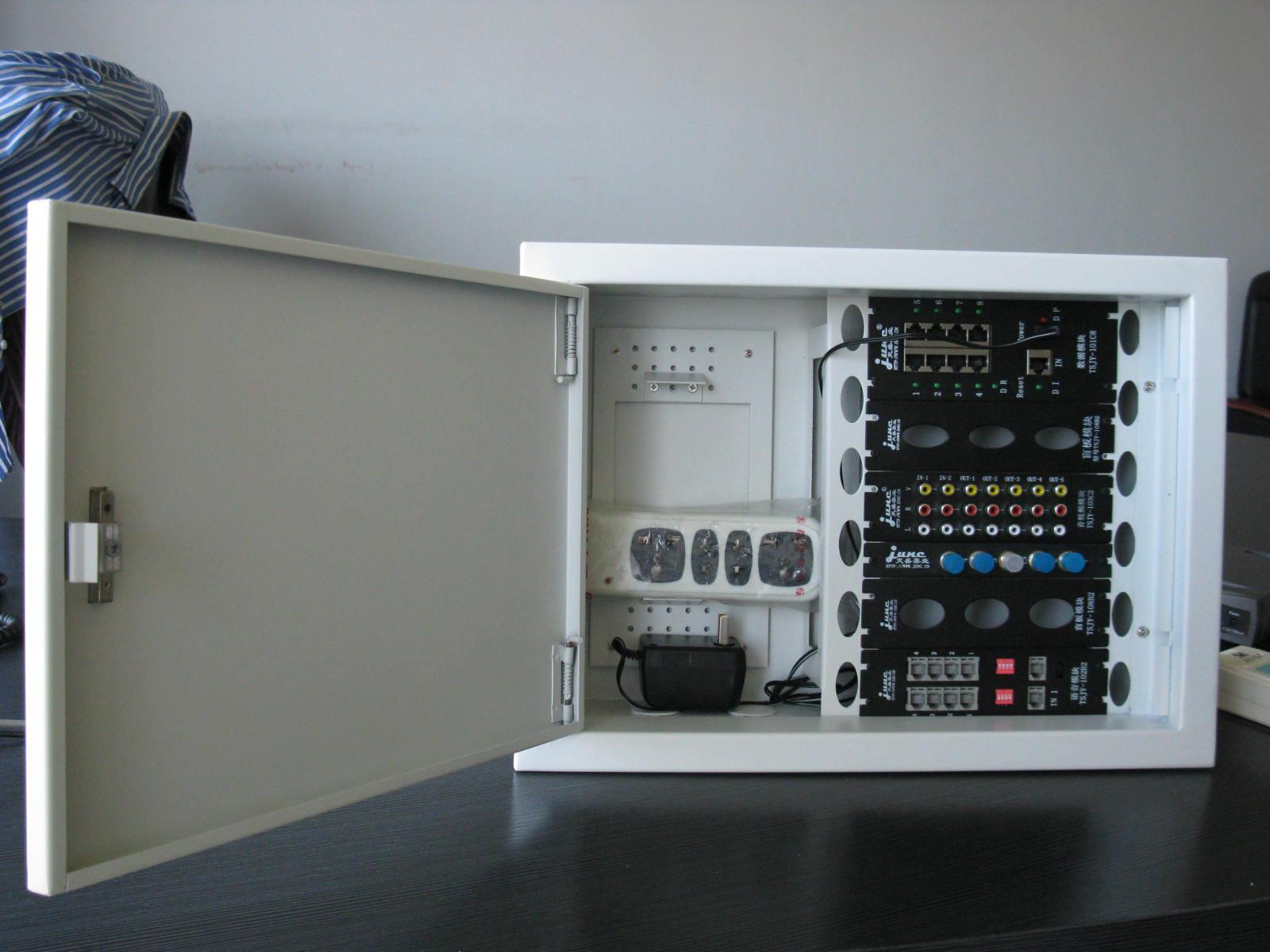 弱电箱_弱电箱网线安装图解_装修弱电箱网线连接